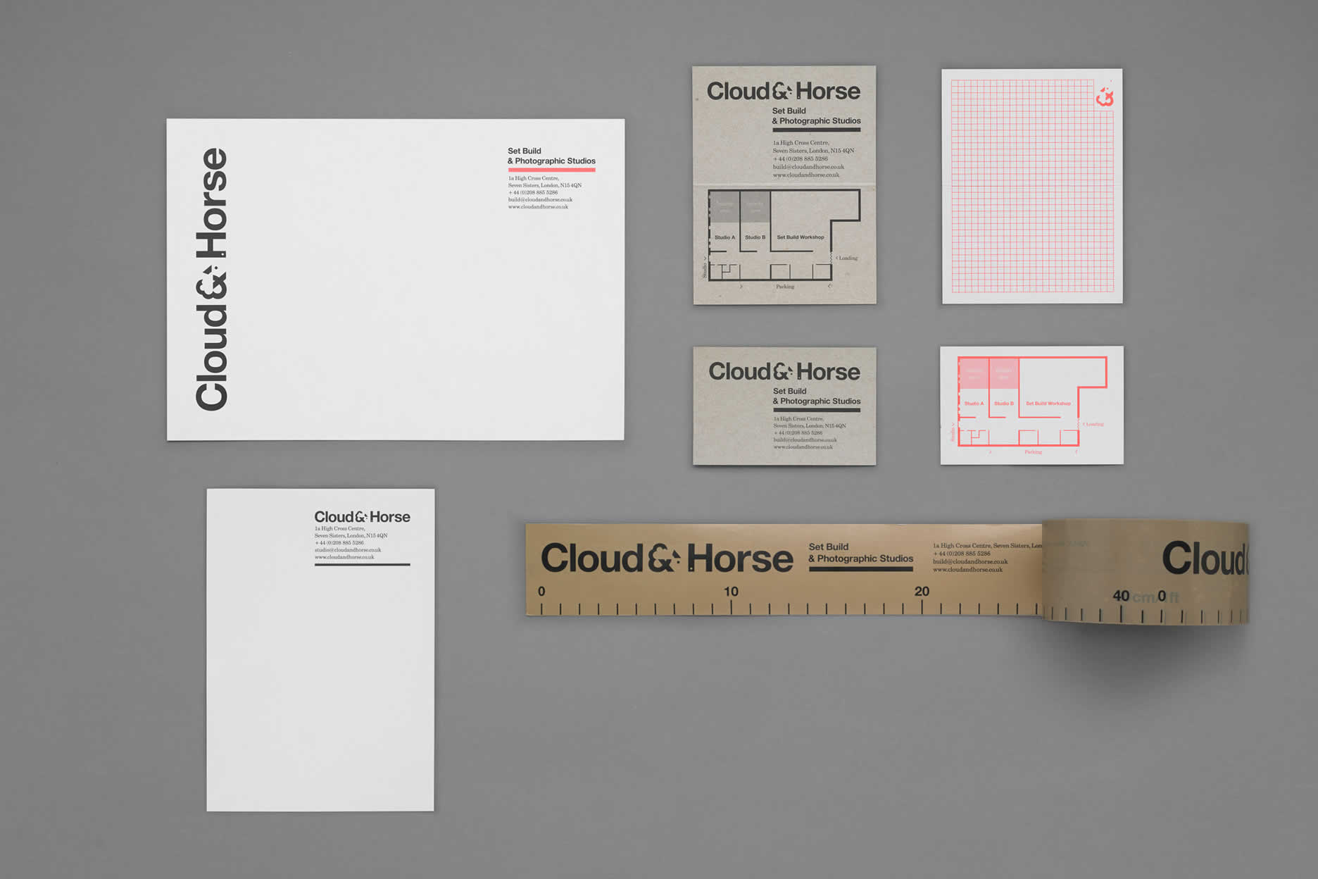 Cloud & Horse stationery
